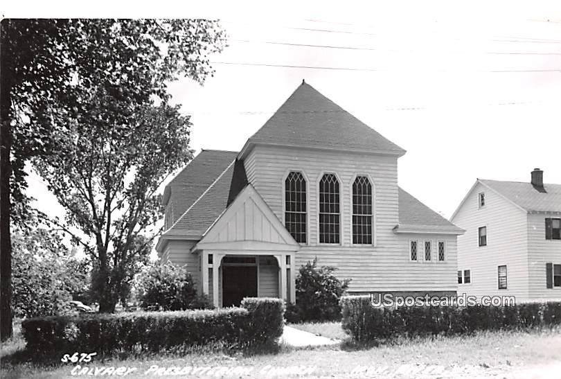 Calvary Presbyterian Church - Iron River, Wisconsin WI Postcard