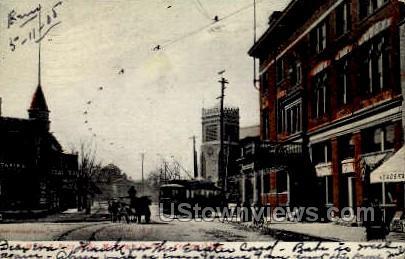 St. Mathew's Church & Y.M.C.A. - Kenosha, Wisconsin WI Postcard