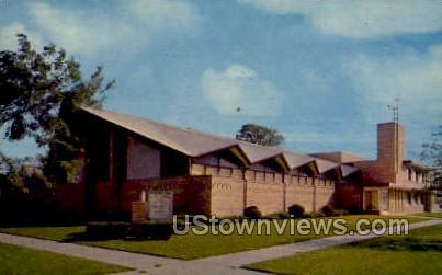 First Assembly of God - Kenosha, Wisconsin WI Postcard