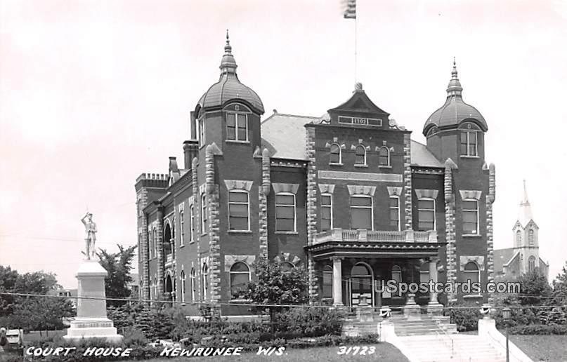 Court HO - Kewaunee, Wisconsin WI Postcard
