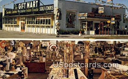 The Gift Mart - Lake Delton, Wisconsin WI Postcard