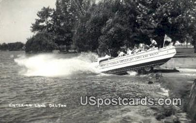 Lake Delton, Wisconsin     ;     Lake Delton, WI Postcard