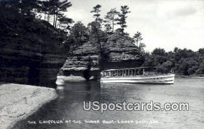 Chippewa, Sugar Bowl - Lower Dells, Wisconsin WI Postcard