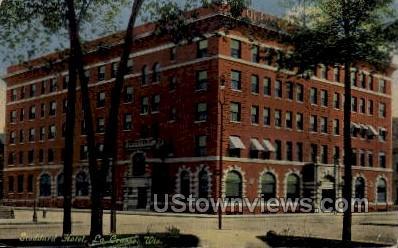 Stoddard Hotel - La Crosse, Wisconsin WI Postcard