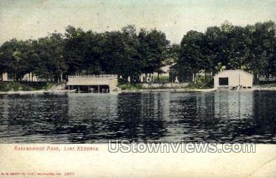 Ravenswood Park - Lake Kegonsa, Wisconsin WI Postcard