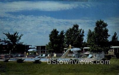 Aire Vista Motel - Baraboo, Wisconsin WI Postcard
