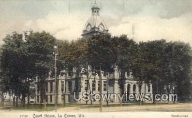 Court House - La Crosse, Wisconsin WI Postcard