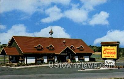 Market Square Cheese & Gifts - Lake Delton, Wisconsin WI Postcard