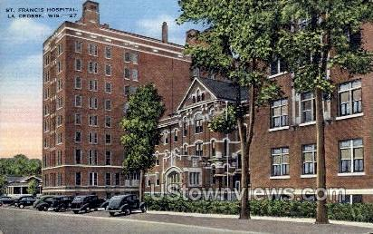 St. Francis Hospital - La Crosse, Wisconsin WI Postcard