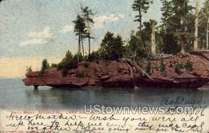 Drill Point, Apostle Islands - Lake Superior, Wisconsin WI Postcard