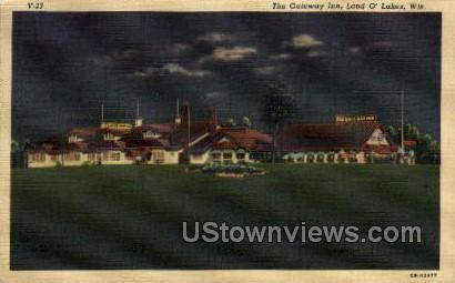 The Gateway Inn - Land-o-Lake, Wisconsin WI Postcard