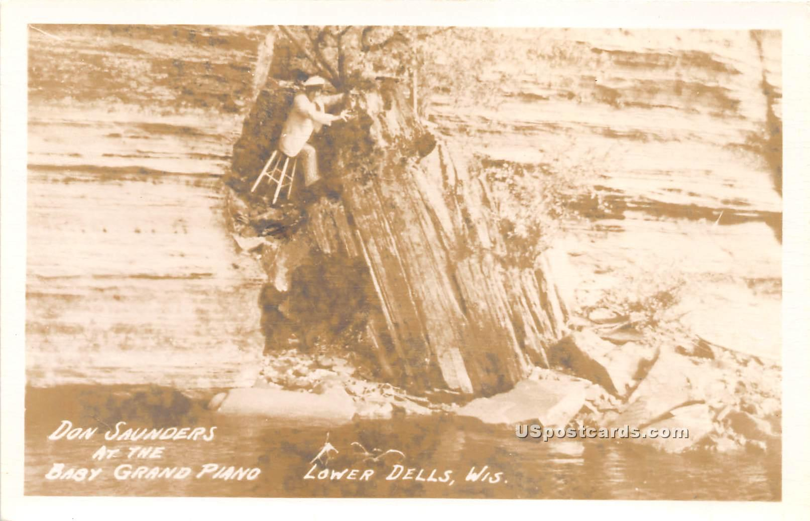 Don Saunders - Lower Dells, Wisconsin WI Postcard