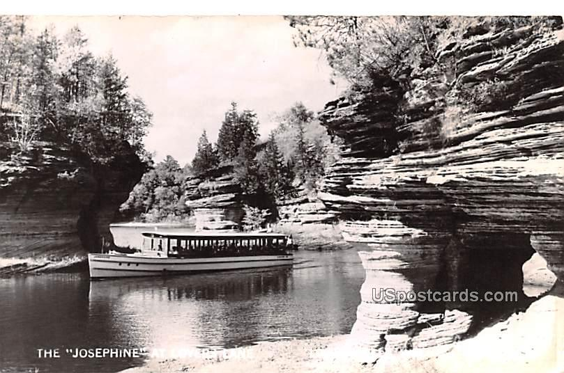 The Josephine at Lover's Lane - Lower Dells, Wisconsin WI Postcard