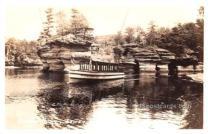 Sugar Bowl - Lower Dells, Wisconsin WI Postcard