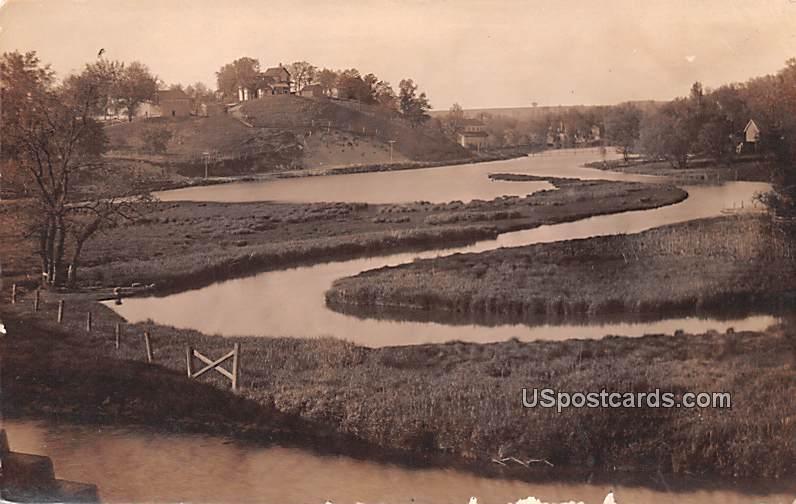 Water View - Lodi, Wisconsin WI Postcard