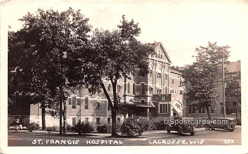 St Francis Hospital - Lacrosse, Wisconsin WI Postcard