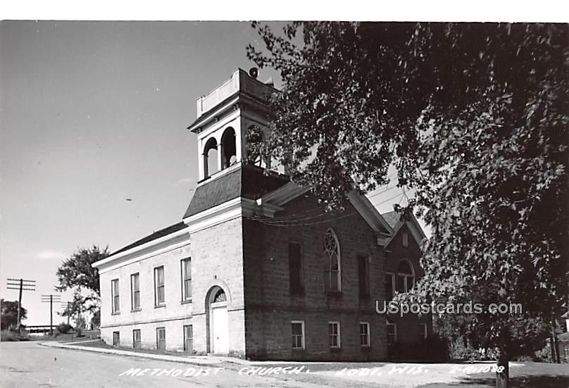 Methodist Church - Lodi, Wisconsin WI Postcard