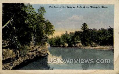 The Foot Of The Narrows - Misc, Wisconsin WI Postcard