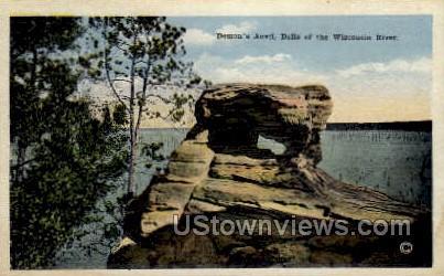 Demon's Anvil - Misc, Wisconsin WI Postcard