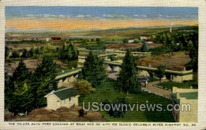 Dalles Auto Park - Misc, Wisconsin WI Postcard