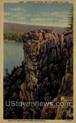 Prospect Point - Misc, Wisconsin WI Postcard