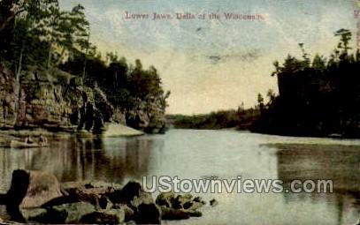 Lower Jaws - Misc, Wisconsin WI Postcard