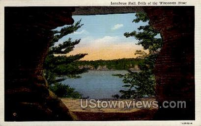 Luncheon Hall - Misc, Wisconsin WI Postcard