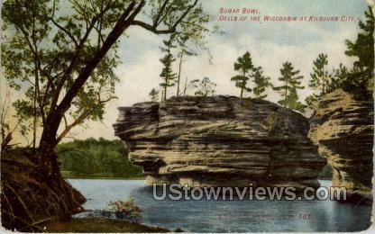Sugar Bowl - Misc, Wisconsin WI Postcard