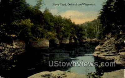 Navy Yard - Misc, Wisconsin WI Postcard