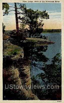 Visor Ledge - Misc, Wisconsin WI Postcard