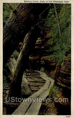 Witche's Gulch - Misc, Wisconsin WI Postcard