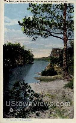 The Jaws - Misc, Wisconsin WI Postcard