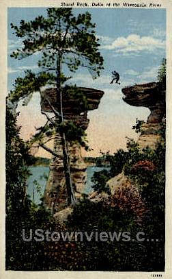 Stand Rock - Misc, Wisconsin WI Postcard