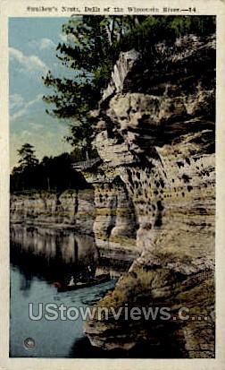 Swallow's Nests - Misc, Wisconsin WI Postcard