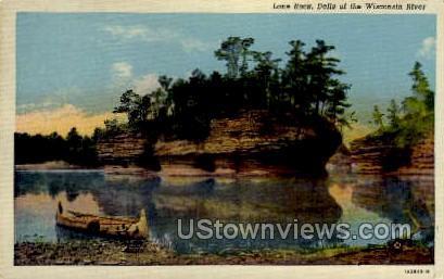 Lone Rock - Misc, Wisconsin WI Postcard