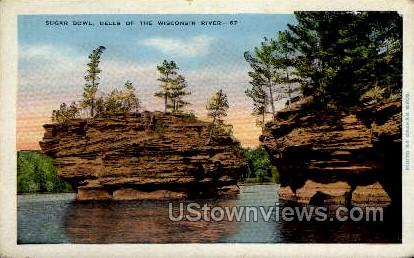 Sugar Bowl Dells - Misc, Wisconsin WI Postcard