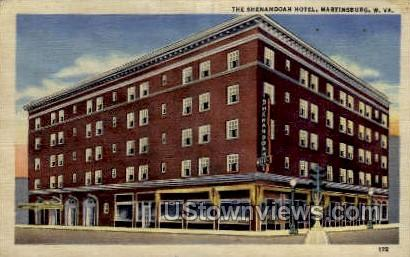 The Shenandoah Hotel - Martinsburg, Wisconsin WI Postcard