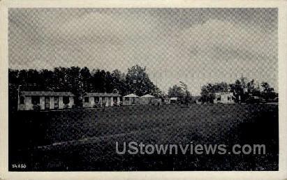 Arrowhead Cabins - Mauston, Wisconsin WI Postcard