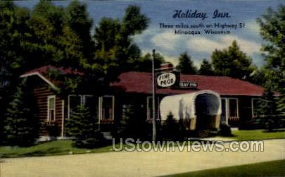Holiday Inn - Minocqua, Wisconsin WI Postcard