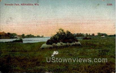 Menasha Park - Wisconsin WI Postcard