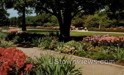 Botanical Gardens - MIlwaukee, Wisconsin WI Postcard
