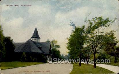 Lake Park - MIlwaukee, Wisconsin WI Postcard