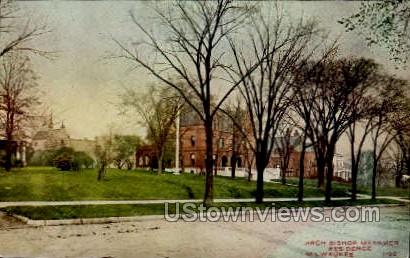 Arch Bishop Messmer Residence - MIlwaukee, Wisconsin WI Postcard