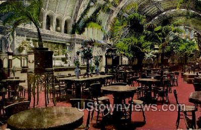Schlity Palm Garden - MIlwaukee, Wisconsin WI Postcard