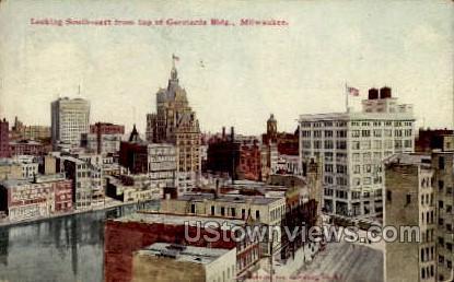 Germania Building - MIlwaukee, Wisconsin WI Postcard