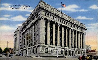 Insurance Co. Building - MIlwaukee, Wisconsin WI Postcard
