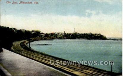 The Bay - MIlwaukee, Wisconsin WI Postcard