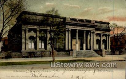Layton Art Gallery - MIlwaukee, Wisconsin WI Postcard