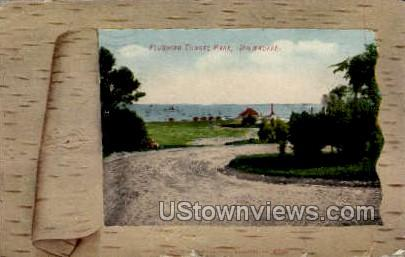 Flushing Tunnel Park - MIlwaukee, Wisconsin WI Postcard