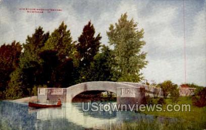 New Bridge In Washington Park - MIlwaukee, Wisconsin WI Postcard